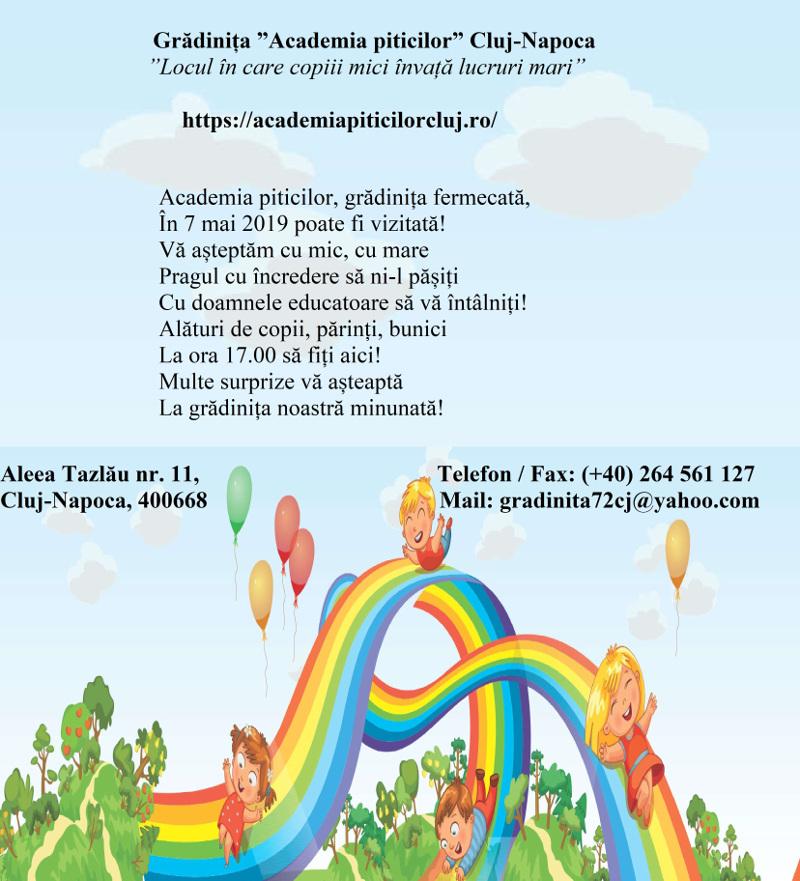 Gradinita Academia Piticilor Cluj Napoca